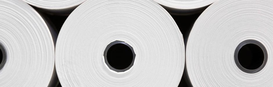 paper rolls slide